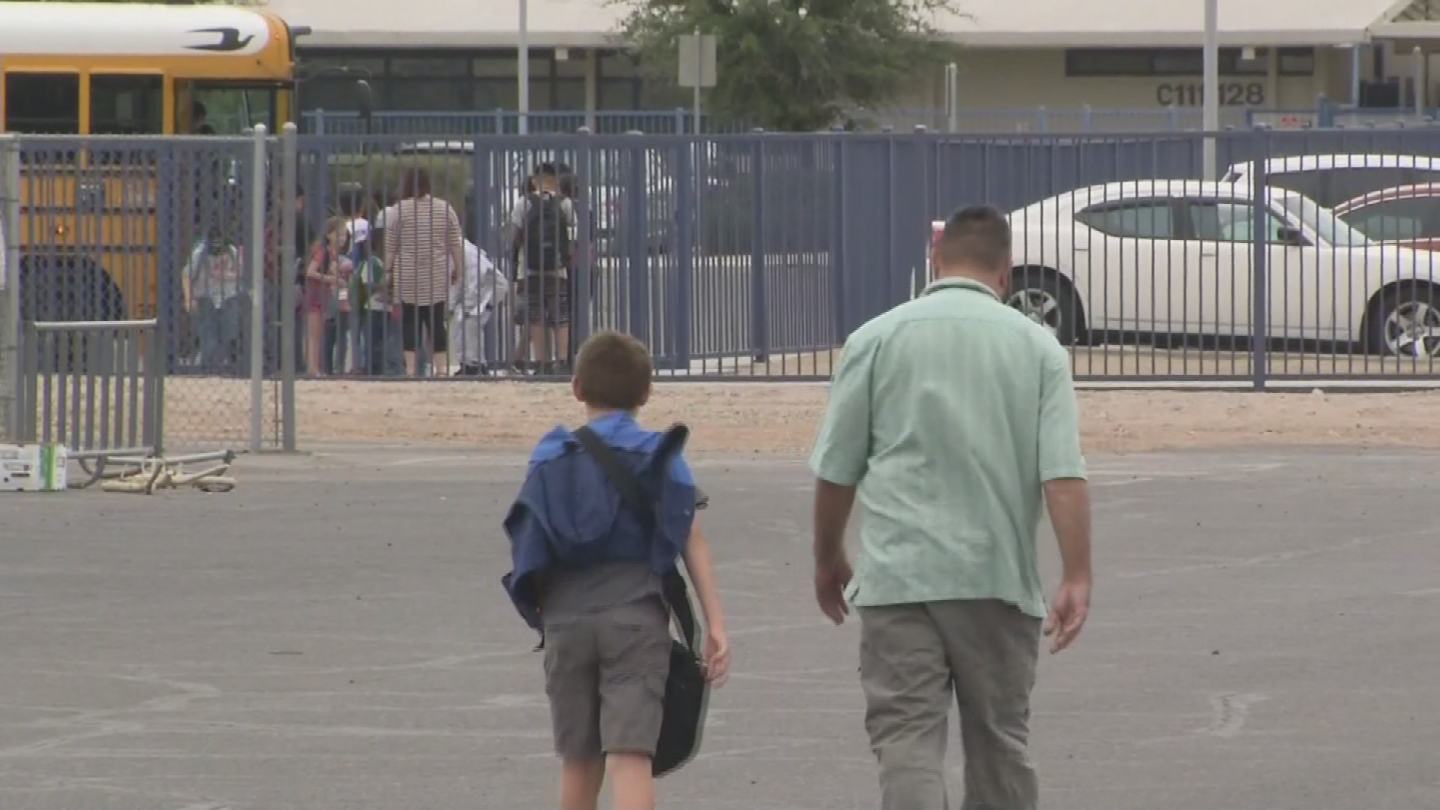 Parents are waiting to see what happens with the teacher walkout. (Source: 3TV/CBS 5)