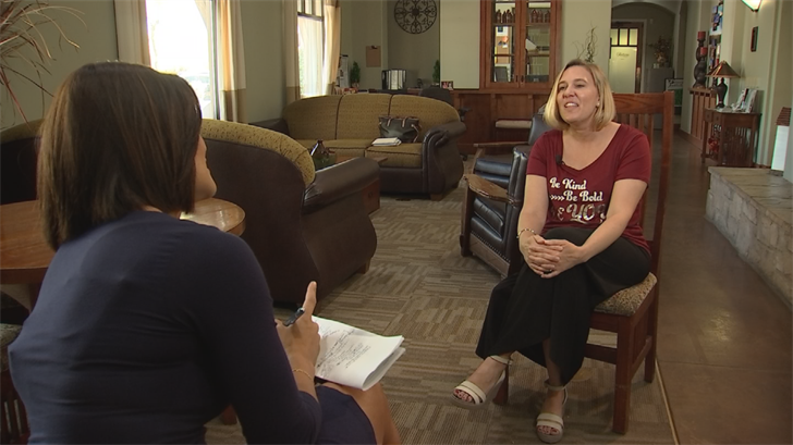 Jeanine Frandsen is a second generation teacher.  17 years in, she's loving it, but leaving it. (Source: 3TV/CBS 5)