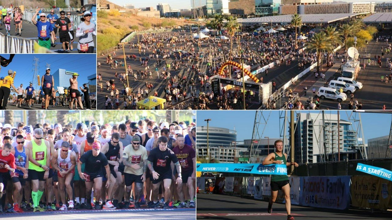 Over 35,000 people participated in this year's Pat's Run in Tempe. (Source: 3TV/CBS 5)