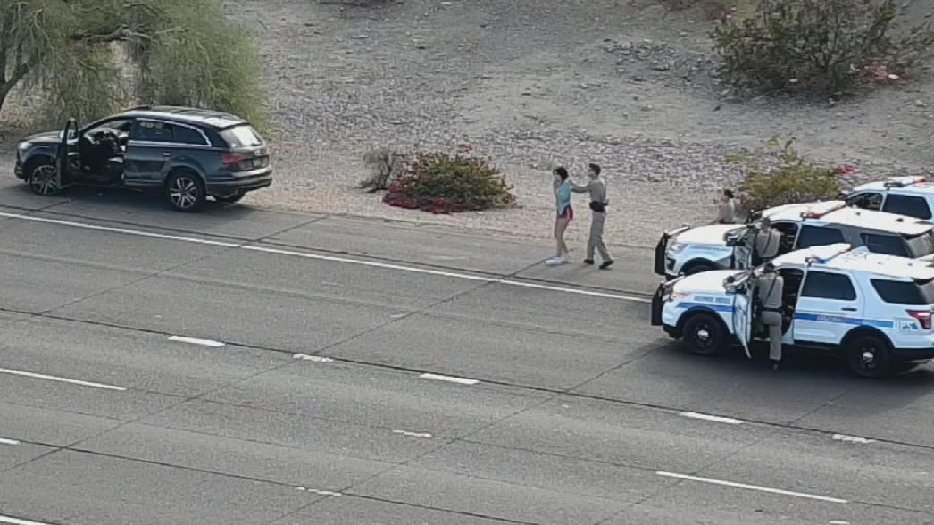DPS said she failed to stop to troopers west of the Valley. (Source: ADOT)