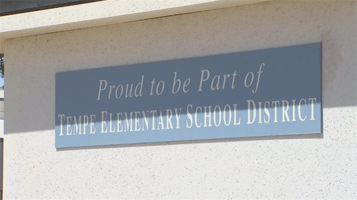 Tempe Elementary School District said it will rely on staff and substitutes to stay open. (Source: 3TV/CBS 5)