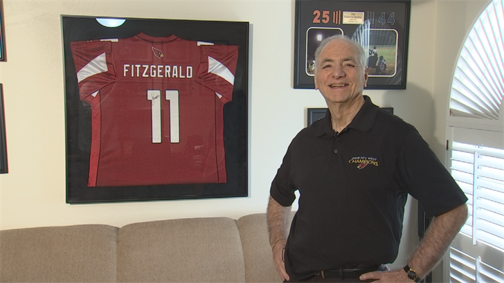 Bob Fischer will get a once-in-a-lifetime experience at the NFL Draft. (Source: 3TV/CBS 5)