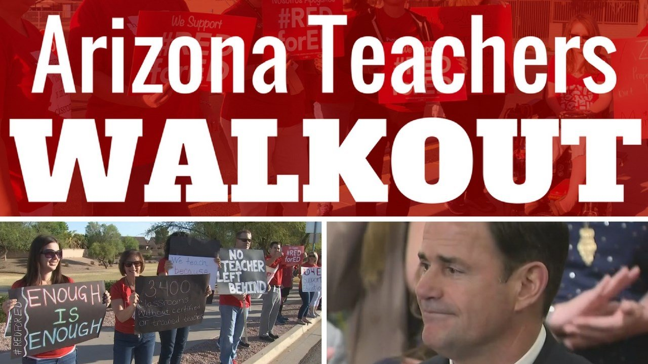 With strike looming, Gov. Ducey pushes to approve his proposal for raises. (Source: 3TV/CBS 5 News)