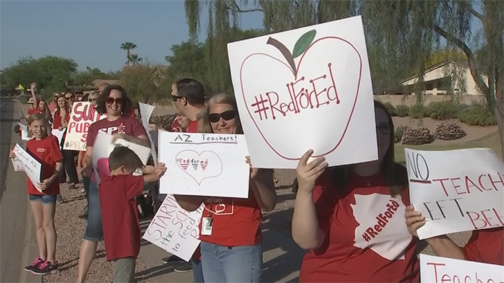 She said she supported the recent walk-inson school campuses across the state. (Source: 3TV/CBS 5)
