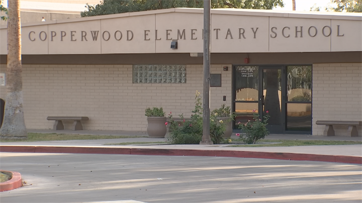 Her school, Copperwood Elementary, will be closing Thursday and Friday because of the walkout. (Source: 3TV/CBS 5)