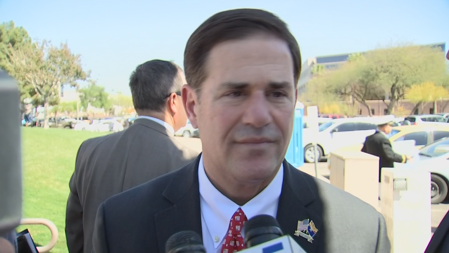 The last big education budget cut occurred in 2015, which was Gov. Doug Ducey's first year in office. (Source: 3TV/CBS 5)