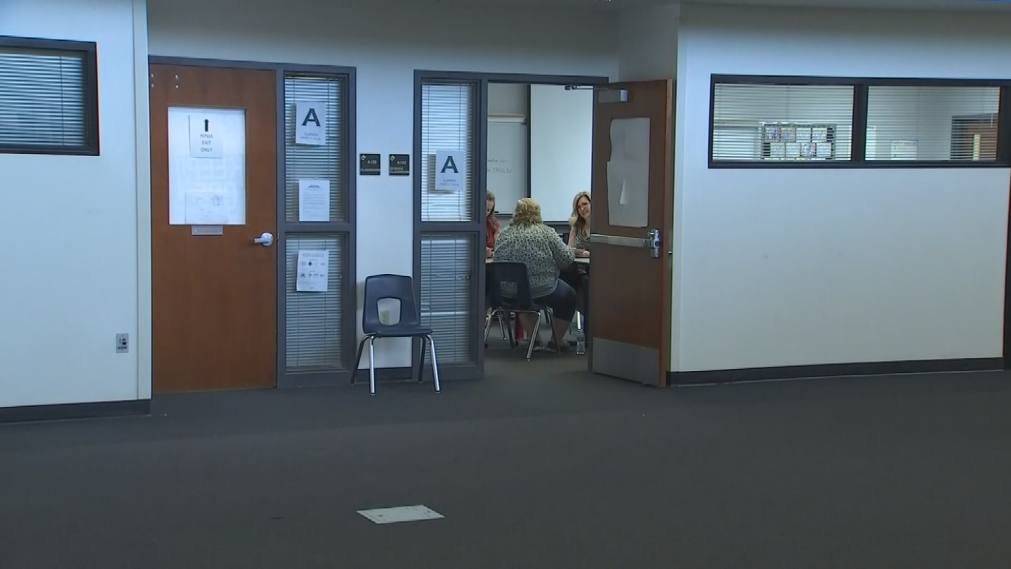 As Arizona teachers plan to walk out of their classrooms later this week, AJSD superintendentDr. Krista Anderson hopes some walk in for a job interview. (Source: 3TV/CBS 5)