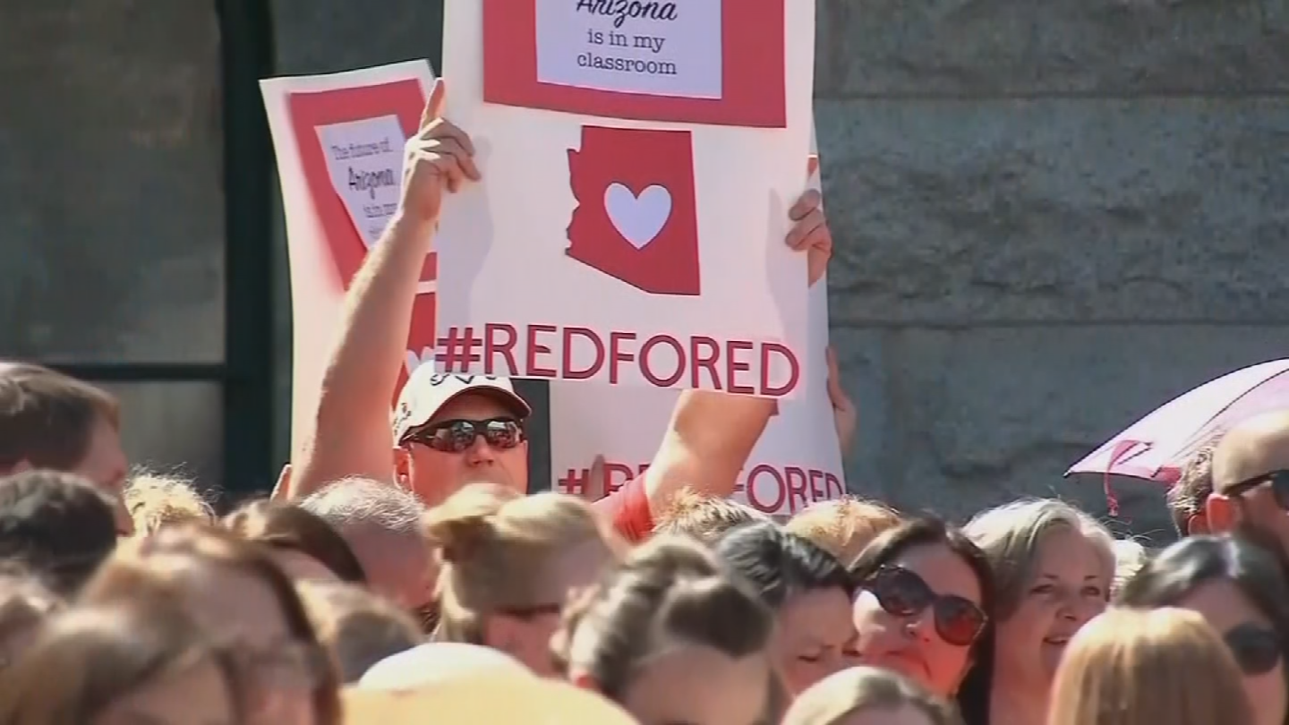AJSD is still deciding whether or not it will close during the teacher walk out. (Source: 3TV/CBS 5)