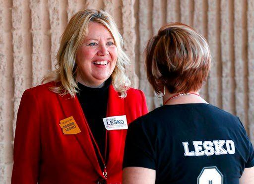 Arizona State Rep. and U.S. Representative candidate Debbie Lesko. (Source: AP Photo)