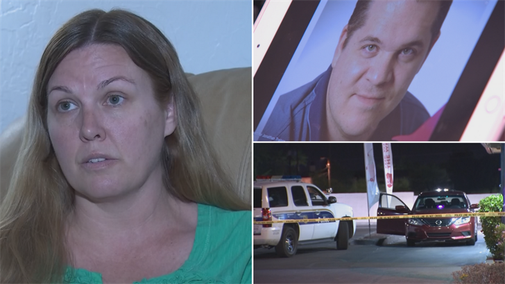 Jonathan Trainor was sitting in his car in the drive-thru of the Jack-In-The-Box near Central and Southern Avenues early Saturday morning with two passengers in the back seat when he was shot and critically wounded. (Source: 3TV/CBS 5)