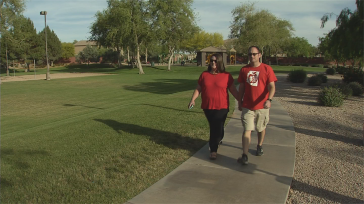 Krystle and Tony Mathews were shocked by their representative's response to concerns about teacher pay. (Source: 3TV/CBS 5)