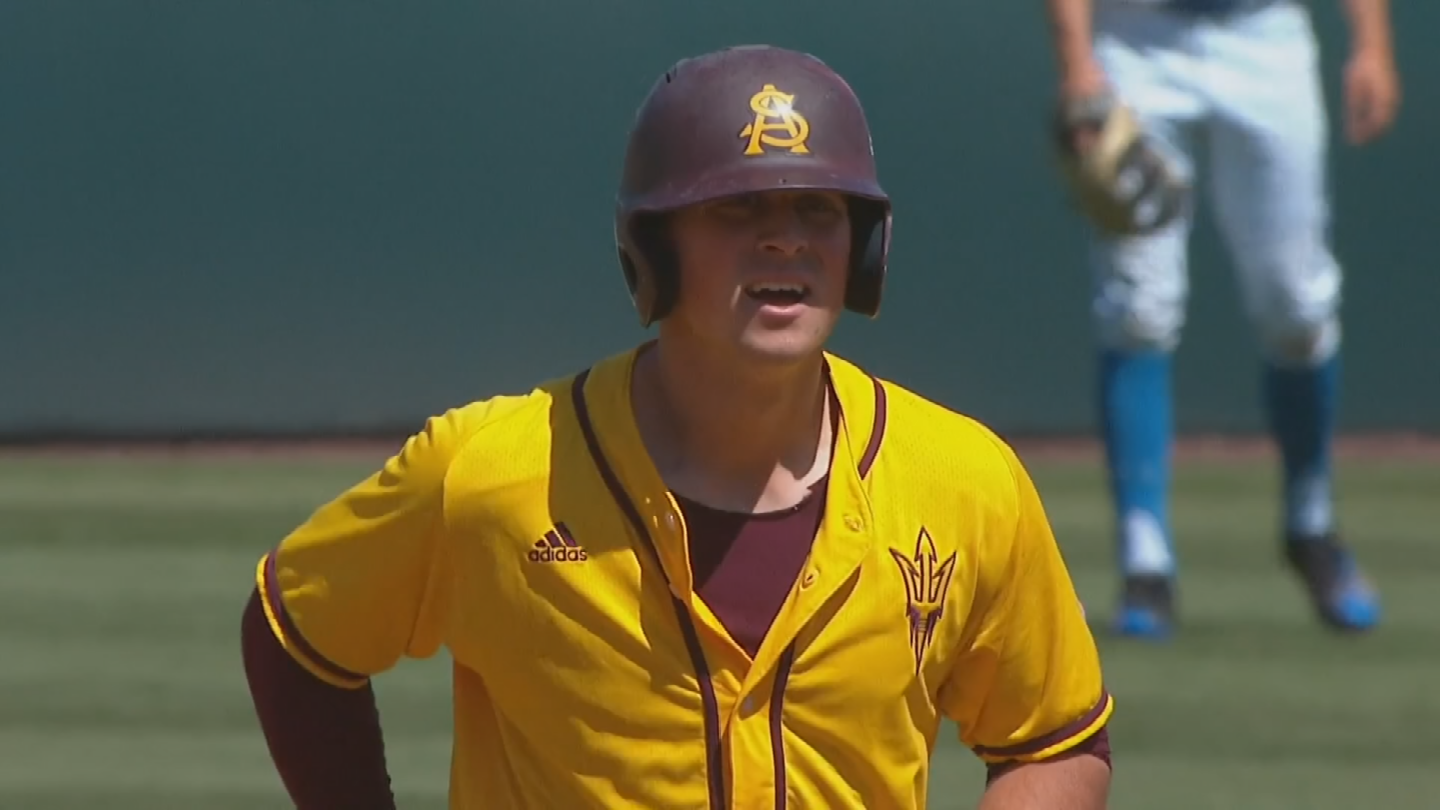 Coming out of Northern California, Spencer Torkelson wasn't highly recruited or even drafted but now the ASU freshman has everyone taking notice. (Source: 3TV/CBS 5)