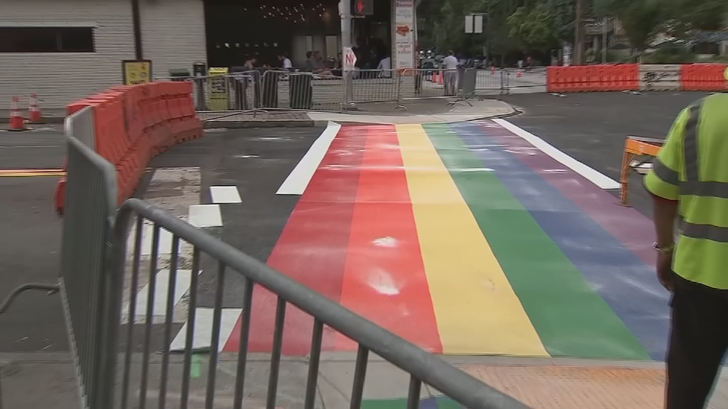A rainbow crosswalk was unanimously approved to be installed at two proposed locations in Phoenix by Mayor Greg Stanton and the City Council. (Source: 3TV/CBS 5)