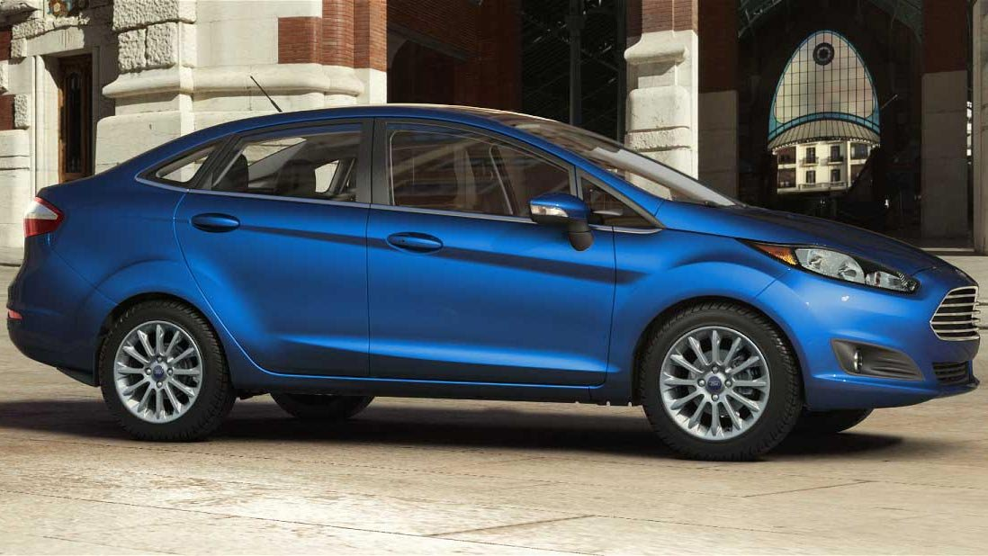 The Fiesta is just one of the models Ford is dropping from is North American dealerships. (Source: Ford)