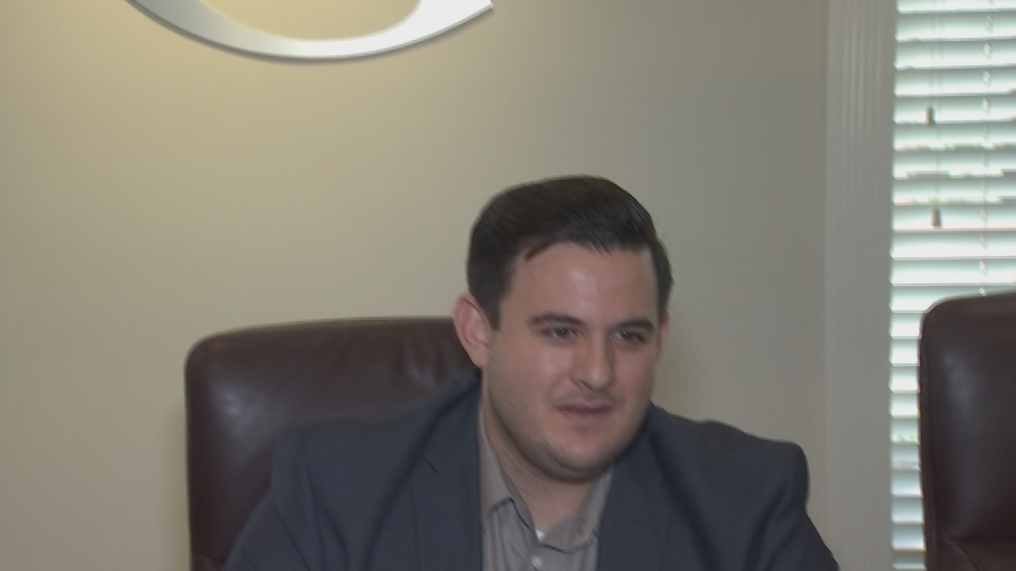 Matthew Simone, who works for the Phoenix-based Goldwater Institute, says teachers should focus their frustration at school boards and not Gov. Doug Ducey, and the Republican-led Legislature. (Source: 3TV/CBS 5)