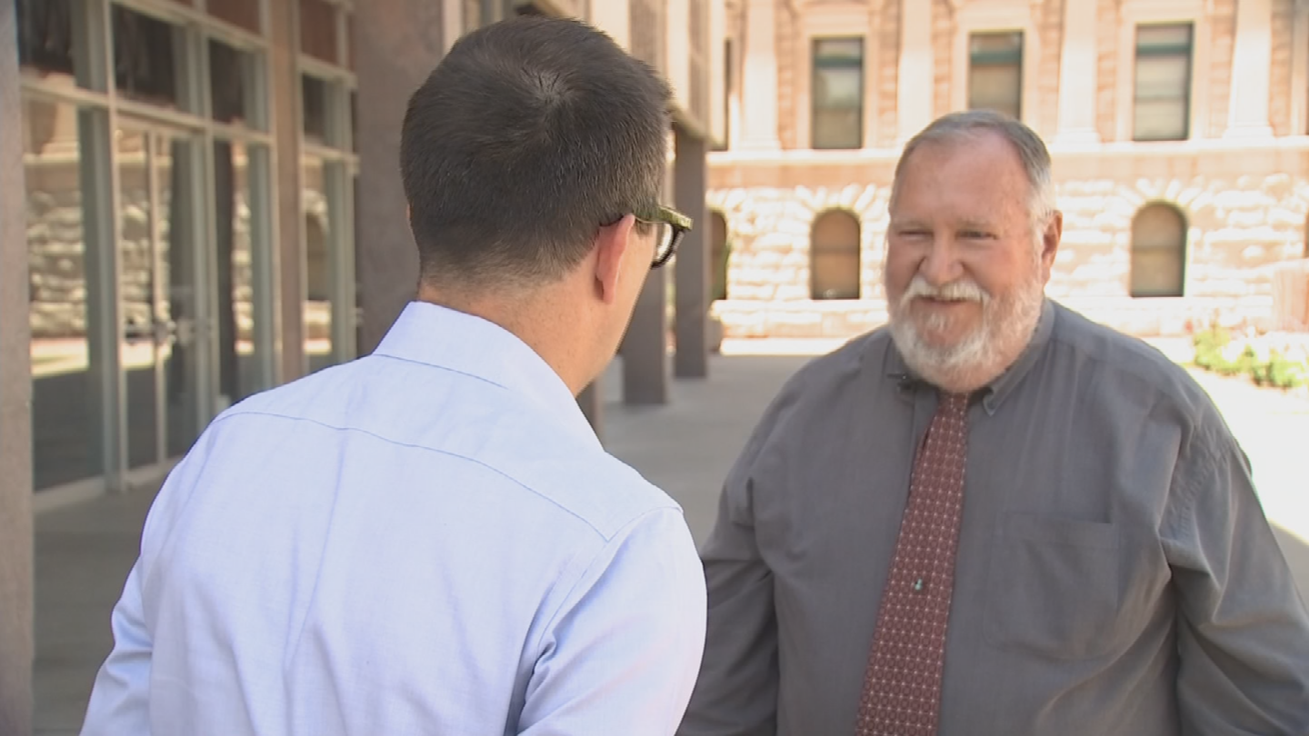 Jim Lemmon, a member of the Tempe Elementary School board, says years of budget cuts at the state level have forced the district to make a tough choice over how to spend their money. (Source: 3TV/CBS 5)