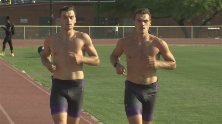 Nick and Jacob Winhauer are the backbone of the team. (Source: 3TV/CBS 5)