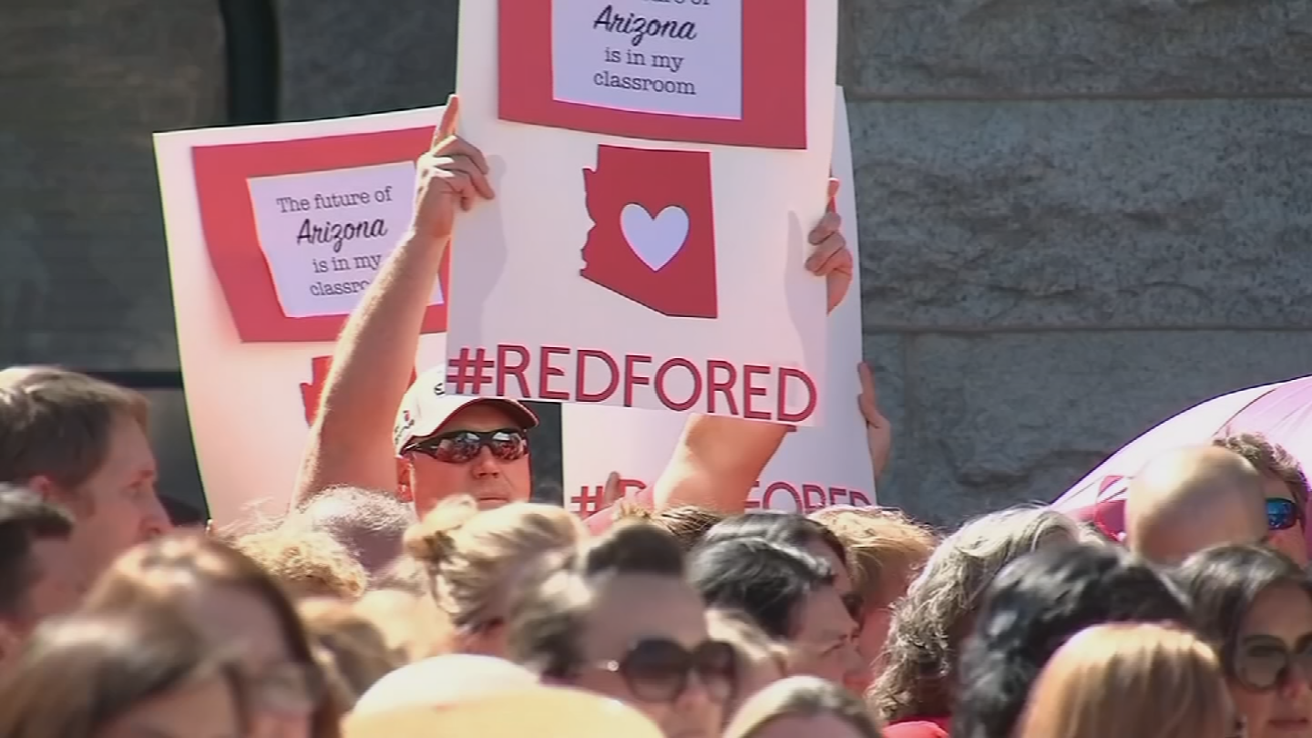Teachers in other states, including North Carolina, are either planning their own demonstrations or watching developments closely. (Source: 3TV/CBS 5)