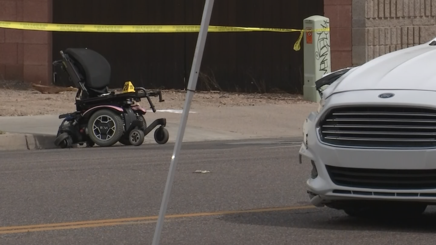 A woman died at the hospital after she was hit by a driver in Tempe. (Source: 3TV/CBS 5)