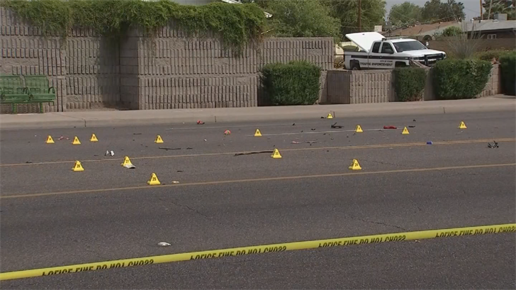 Police said impairment doesn't appear to be a factor and the driver stayed on scene. (Source: 3TV/CBS 5)