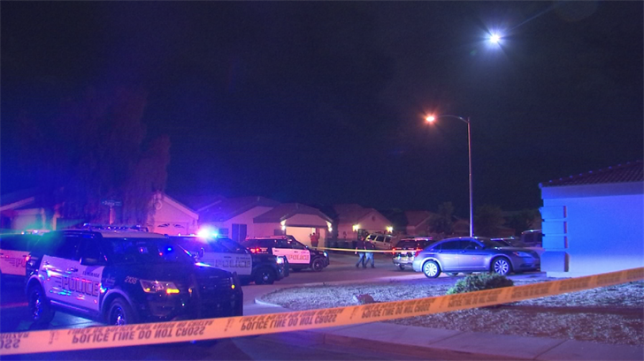The 17-year-old boy was transported in critical condition and died in the hospital. The other victim, who was found in the backyard, was transported to a local hospital with non-life-threatening injuries. (Source: 3TV/CBS 5)