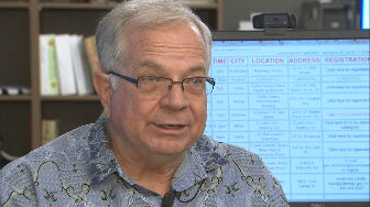 Ken Water, Warning Coordinator for the National Weather Service Phoenix. (Source: 3TV/CBS 5)