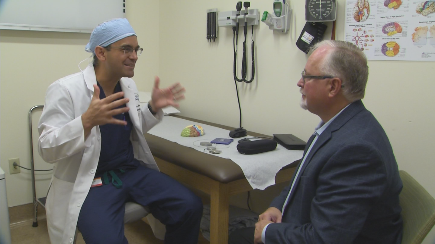 He thought his life was virtually over until a neurologist at Barrow Neurological Institute in Phoenix suggested a therapy called deep brain stimulation. (Source: 3TV/CBS 5)