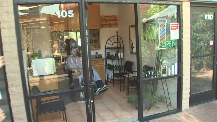 A barber by trade, Hartshorn settled on a space off Mill Avenue in Tempe. (Source: 3TV/CBS 5)