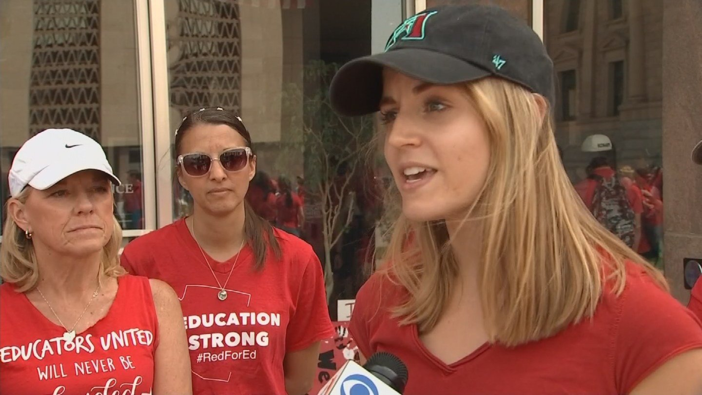 Kristy Braaksma is an elementary school teacher in the east Valley. (Source: 3TV/CBS 5 News)