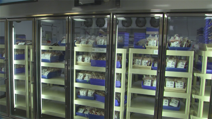 Hospitals need 500 blood donations a day to fulfill patient's transfusion needs. (Source: 3TV/CBS 5)