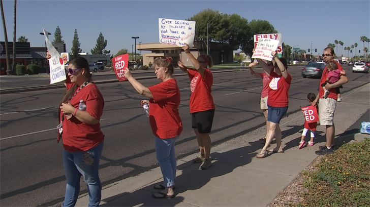 The money will only go to teachers with class rosters and will bypass specialized educators such as reading specialists. (Source: 3TV/CBS 5)