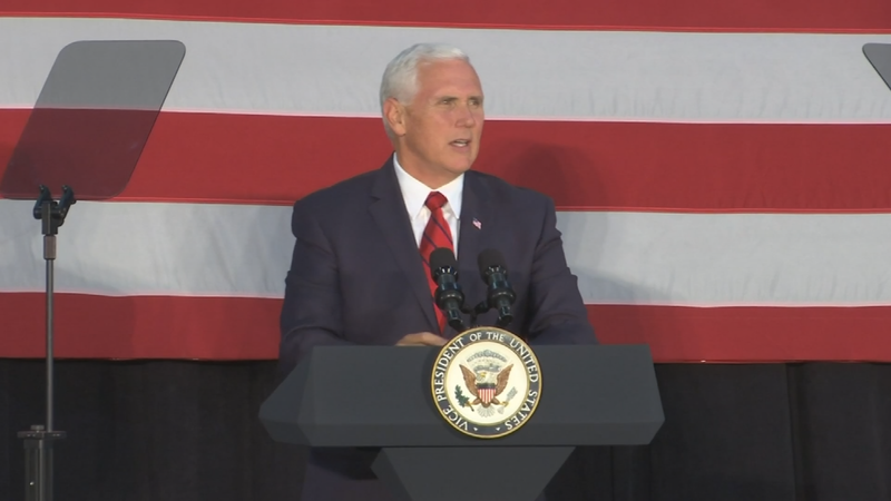 Vice President Mike Pence is expected in the Phoenix area for a gathering to discuss the current administration's tax policies. (Source: CNN)