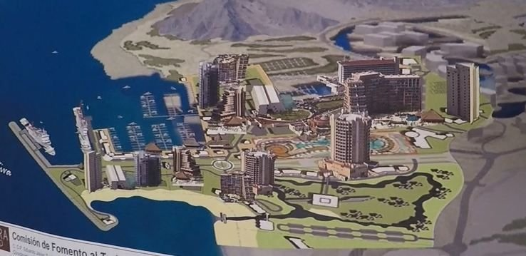 Early artist's rendering of the port (Source: 3TV/CBS 5 file)