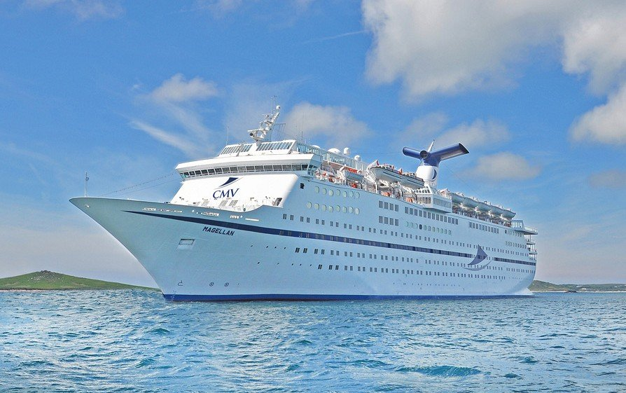 Specialty cruise line Cruise & Maritime Voyages plans to sail its 1,250-passenger ship Magellanout of a temporary port facility in the heart of Puerto Penasco until the larger facility is completed in 2021.(Source: us.cruiseandmaritime.com)