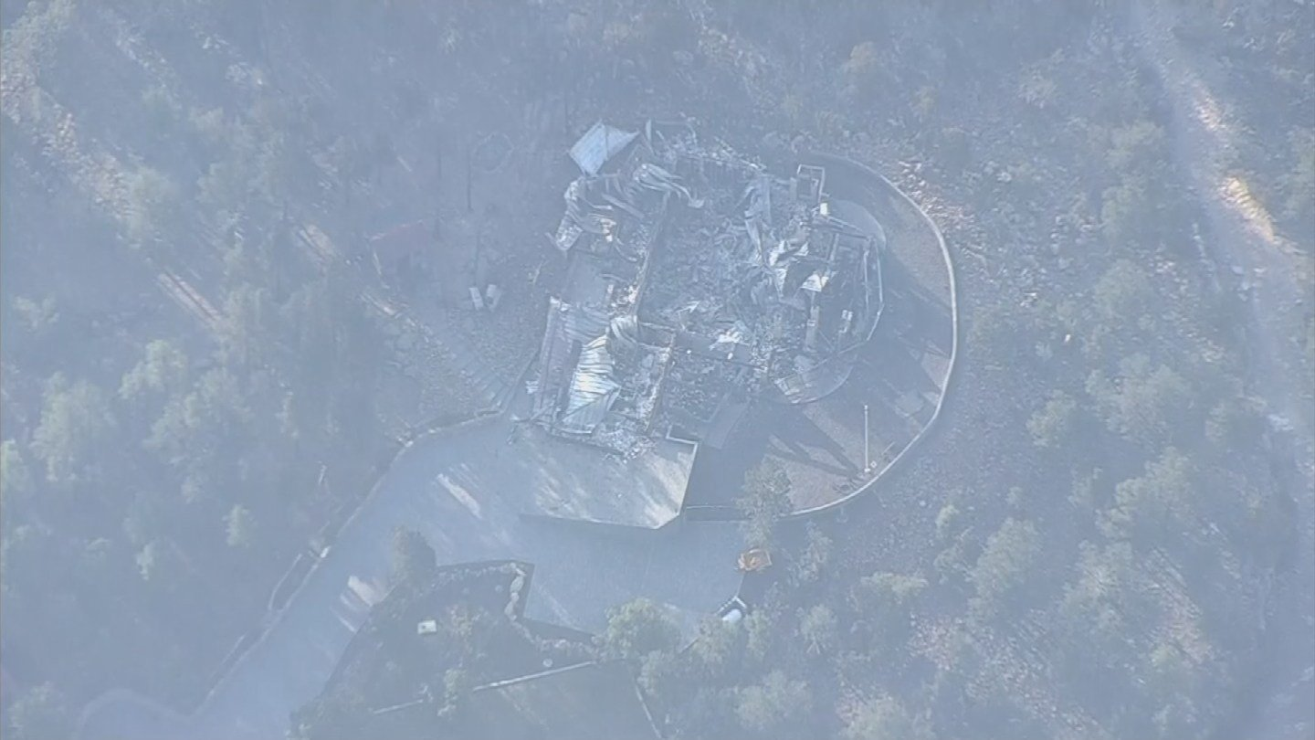 The Tinder Fire has destroyed several homes. (Source: 3TV/CBS 5)
