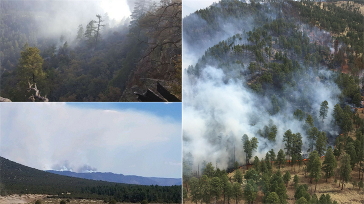 The Rattlesnake Fire has grown to 26,072 acres as of May 1 and is 63 percent contained. (Source: Inciweb)