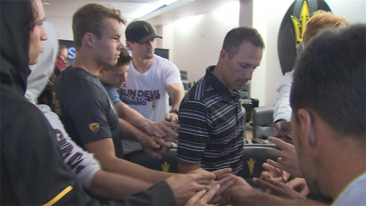 ASU opens the NCAA Tournament with Baylor in College Station, Texas. (Source: 3TV/CBS 5)