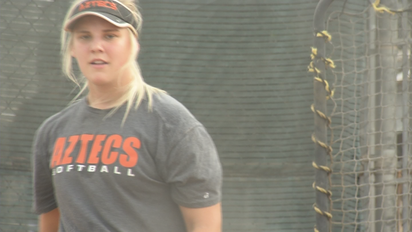In her senior season, she has raised her game and leadership qualities. (Source: 3TV/CBS 5)