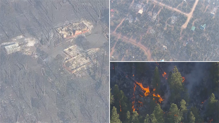 People will be allowed to see their homes on Friday. (Source: 3TV/CBS 5)