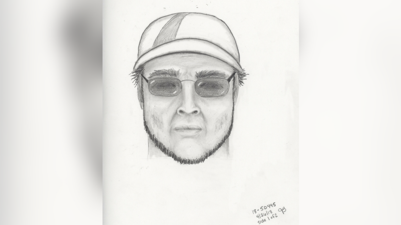 This is the sketch of a man police said tried to kidnap a boy. (Source: Chandler Police Department)