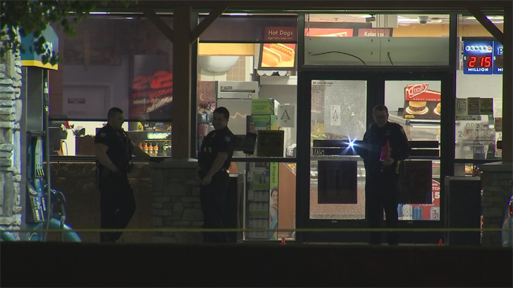 The shooting was reported at a Valero gas station near 51st Avenue and Baseline Road. (Source: 3TV/CBS 5)