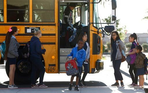 Some districts planned to reopen Friday, while others said they would resume classes next week. (Source: AP Photo)