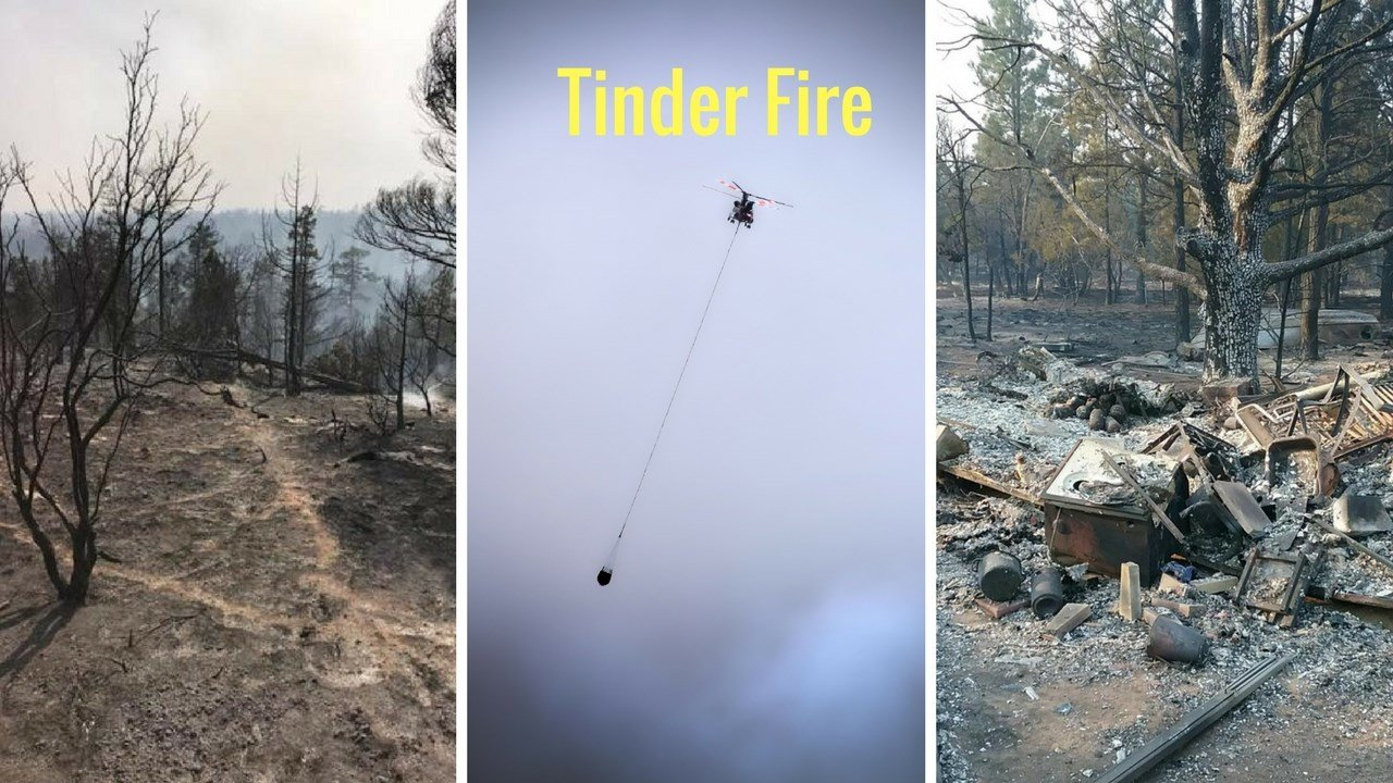 Tinder fire coverage. (Source: 3TV/CBS 5 News)
