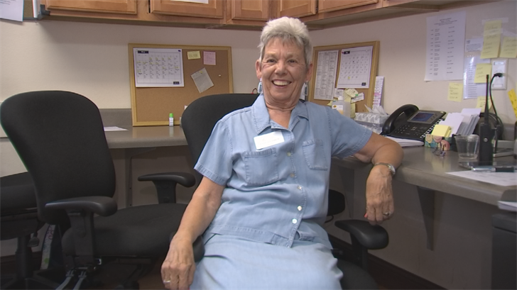 Evie Hasnard is a certified nursing assistant and is 82 years old. (Source: 3TV/CBS 5)