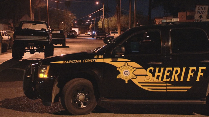 The Maricopa County Sheriff's Office said the man suffered life-threatening injuries. (Source: 3TV/CBS 5)