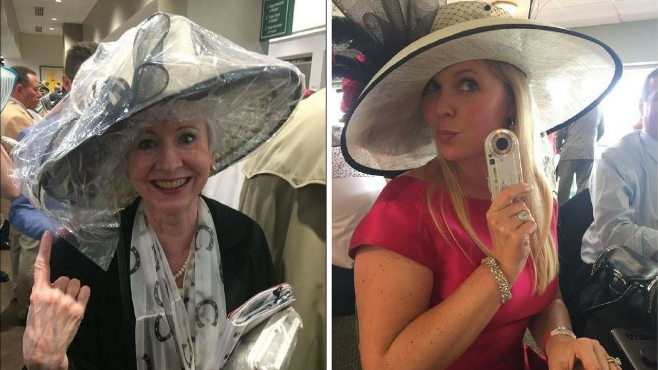Derby Day hat covers. (Source: 3TV/CBS 5 News)