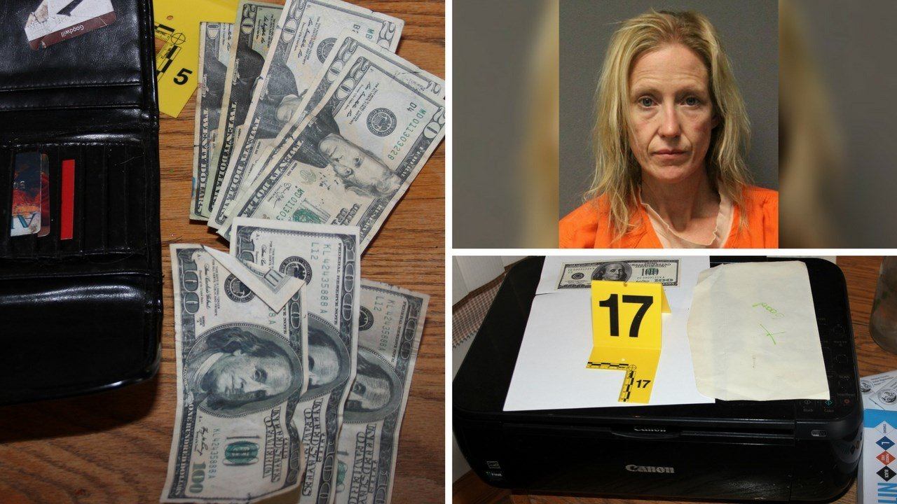 Authorities in Yavapai County have made an arrest in a counterfeit money operation. (Source: Yavapai County Sheriff Dept.)