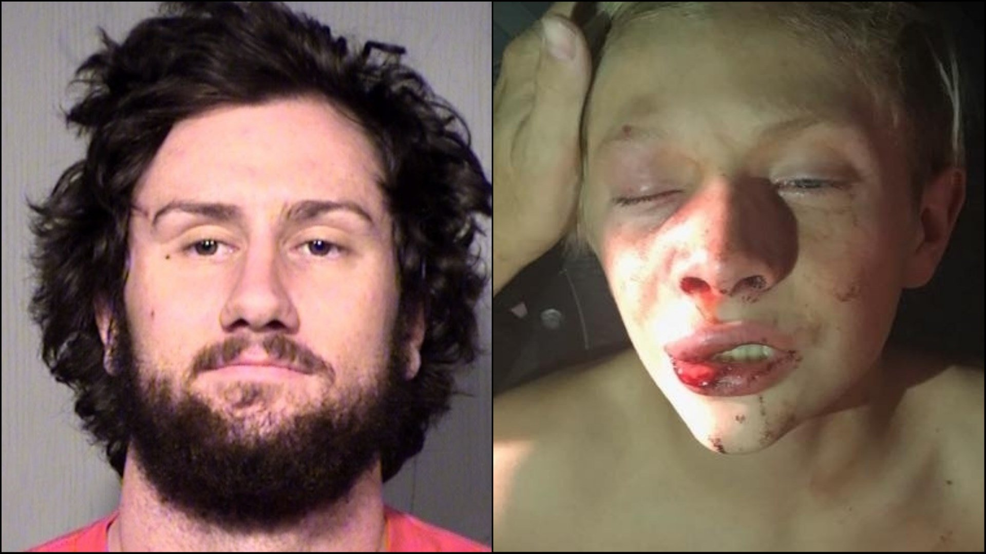 Johnathan Larocque and 13-year-old alleged victim (Source: Maricopa County Sheriff's Office and GoFundMe)