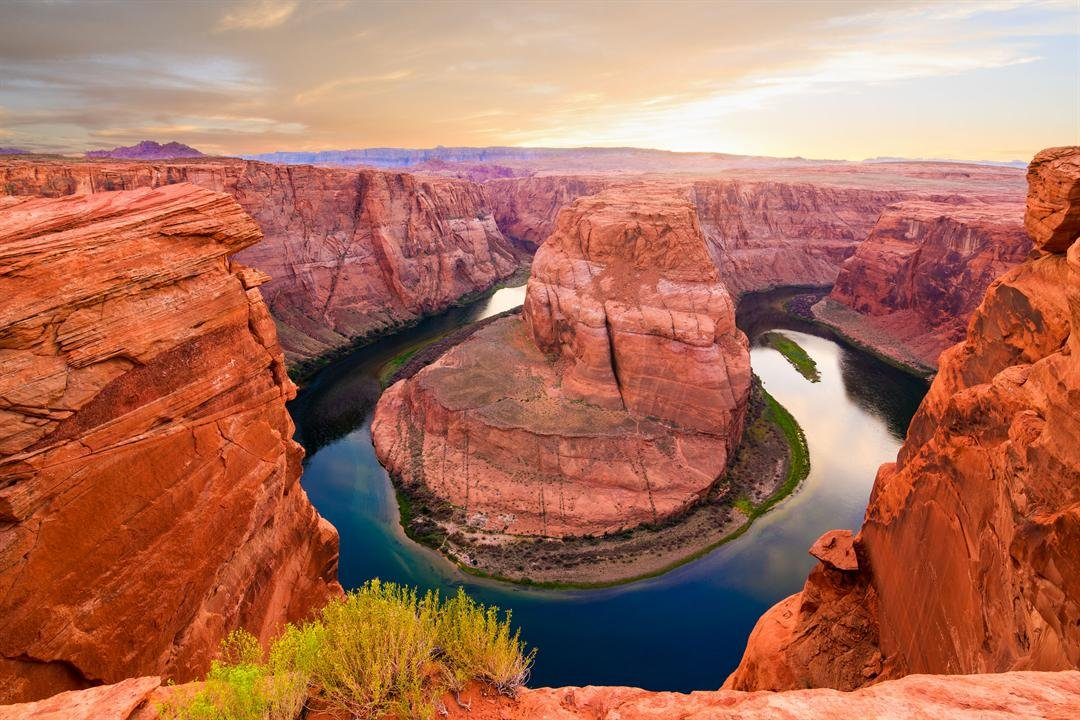 Undated file picture of Horseshoe Bend. (Source: 123RF Stock Photo)