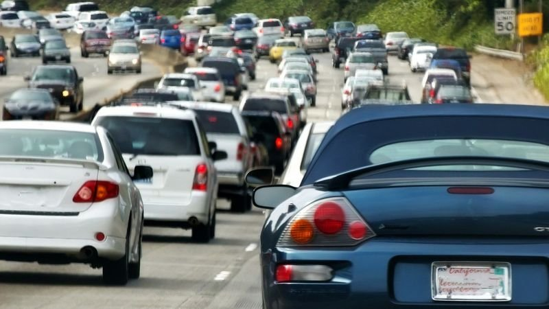 Those heading to the West Valley should plan for heavier traffic on Interstate 10 and the Loop 101 Agua Fria Freeway, according to the Arizona Department of Transportation. (Source: AP Images)